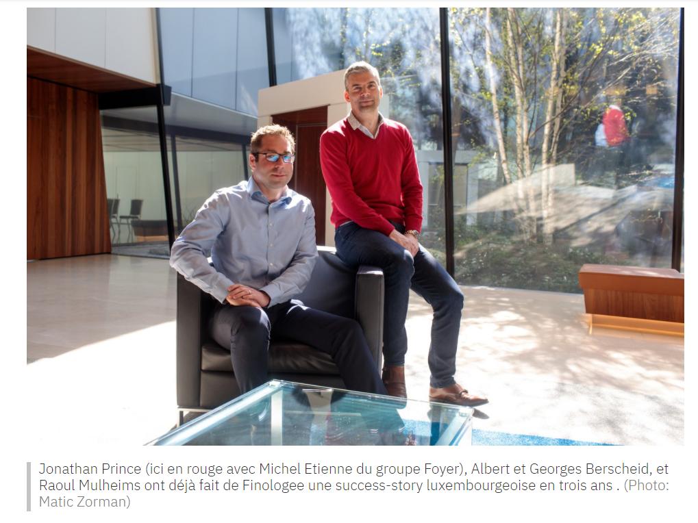 Finologee, seule luxembourgeoise dans le Regtech 100